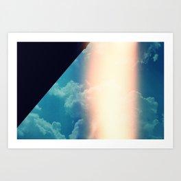 Flare & Sky Art Print