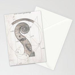 musical geometr.eye Stationery Cards
