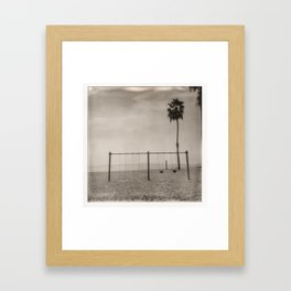 Cabrillo Beach, Los Angeles California Framed Art Print