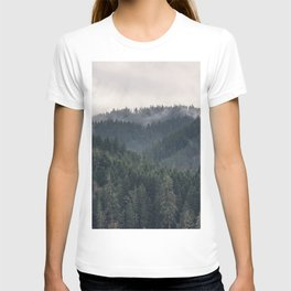 Pacific Northwest Forest - Nature Photography T-shirt
