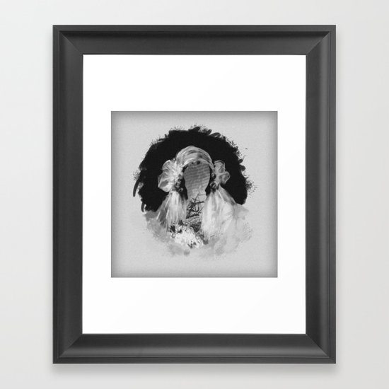 Bride IV Framed Art Print