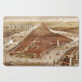 New Amsterdam - 1880 Cutting Board