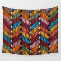 hipster Wall Tapestries featuring Hipster by Rceeh