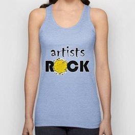 artists ROCK Unisex Tank Top