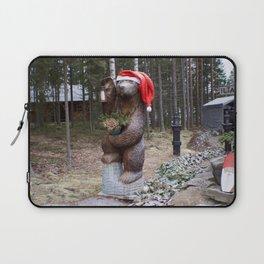Christmas Bear Laptop Sleeve