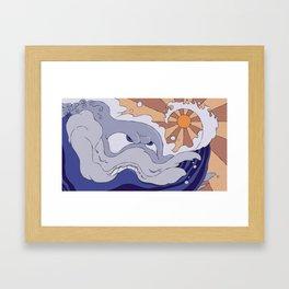 Mad Wave Framed Art Print