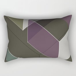 Muted RGB by Friztin Rectangular Pillow