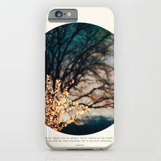 White Lights Slim Case iPhone 6s