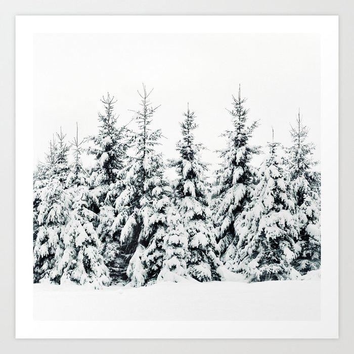 Snow Porn Art Print