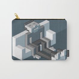 Couch slouch pixel artwork Carry-All Pouch