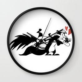 Pepe Le Pew Wall Clock