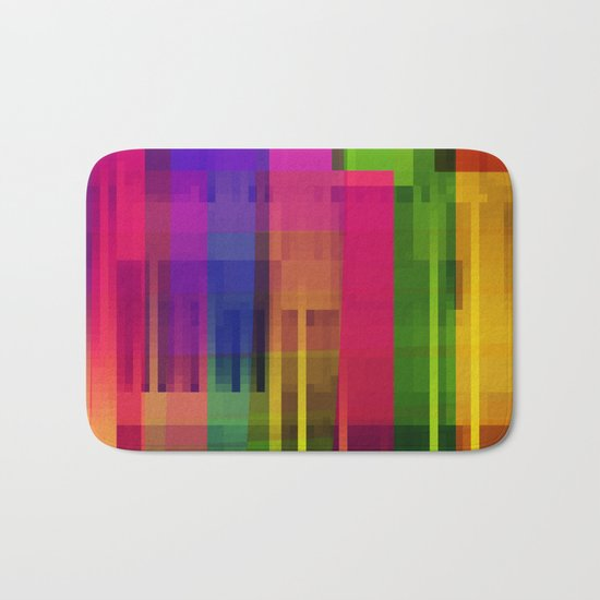 pushin' color Bath Mat