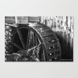 Waterwheel 2 Canvas Print