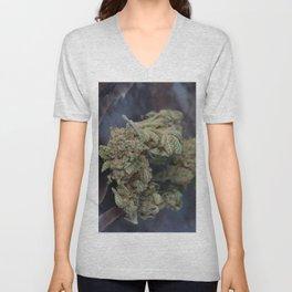 Medical Marijuana Deep Sleep Unisex V-Neck