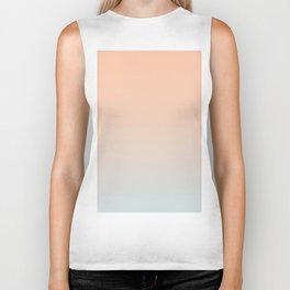 WEST COAST - Minimal Plain Soft Mood Color Blend Prints Biker Tank