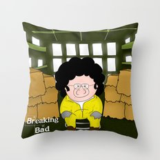 Breaking Bad...or something like that Throw Pillow