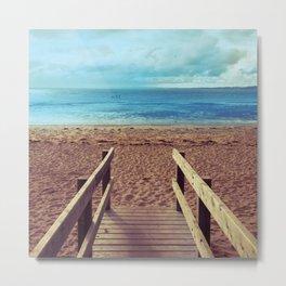 Boardwalk to the Beach Metal Print