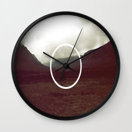 middle ground Wall Clock