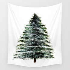 Evergreen Tree Tapestry Wall Tapestry