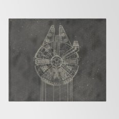 Millennium Falcon Throw Blanket