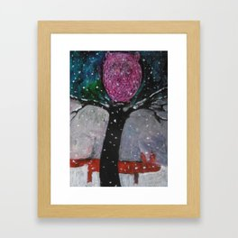 OWL & FOX  Framed Art Print