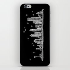Seattle, Washington City Skyline iPhone & iPod Skin