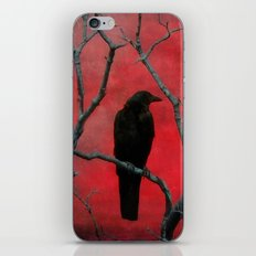 The Color Red iPhone & iPod Skin