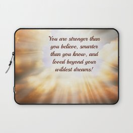 You Are (In browns) Laptop Sleeve