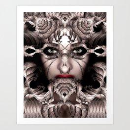 She-Borg Soulsqueezer Art Print