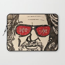 """The Dude Abides"" featuring The Big Lebowski Laptop Sleeve"