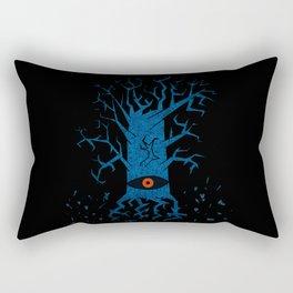 All-seeing tree 2 night Rectangular Pillow