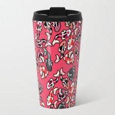 Red Koi Travel Mug