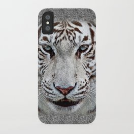 BLUE-EYED BOY iPhone Case