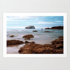 Bass Rock Art Print