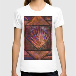 Bronze and Jewel Tone Quilt T-shirt