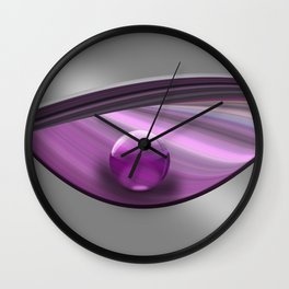 Lilac Ball  Wall Clock