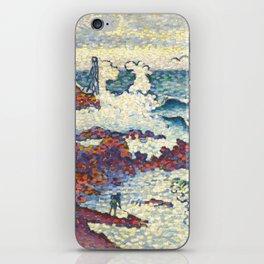 """Henri-Edmond Cross """"Méditerranée par vent d'est"""" iPhone Skin"""