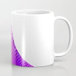 Glitch in the Dot Matrix (Purple) Coffee Mug
