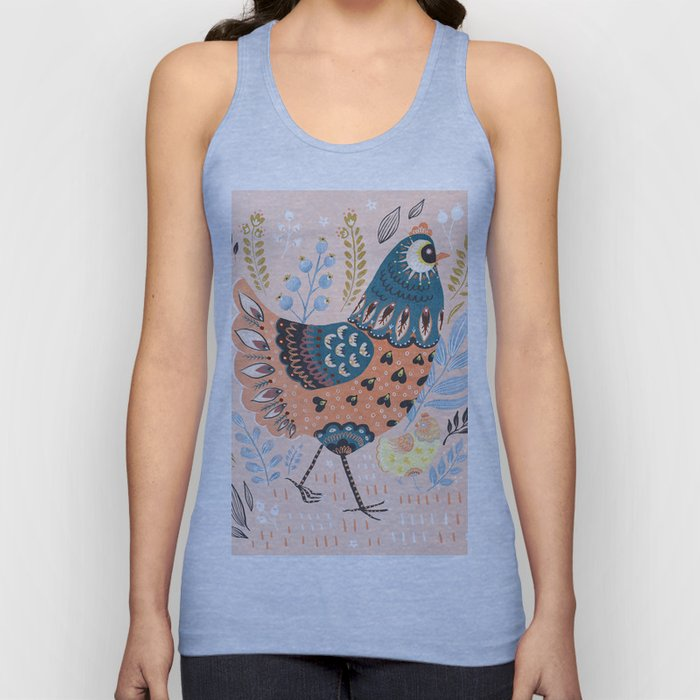 Mother Hen Unisex Tank Top
