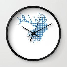 German Oktoberfest Bavarian Deer Gift Idea  Wall Clock
