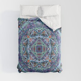 Mystic Abstract Mandala of Peace Comforters