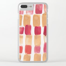 13  | 190321 Watercolour Abstract Painting Clear iPhone Case