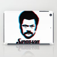 ron swanson iPad Cases featuring Swanson by ThePencilClub