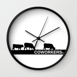 coworkers© Wall Clock