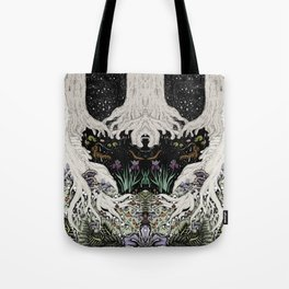 Starry Forest Tote Bag
