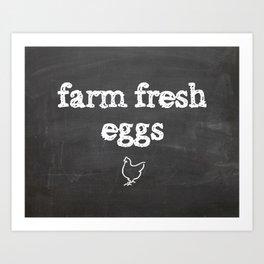 Farm Fresh Art Print