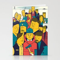 fargo Stationery Cards featuring Fargo by Ale Giorgini
