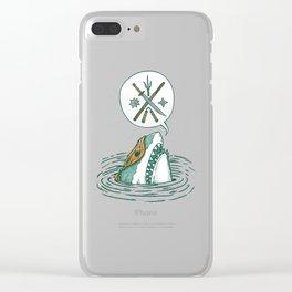 The Ninja Shark Clear iPhone Case