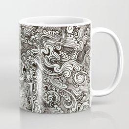 Tangling lines Coffee Mug