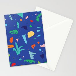 Shapes of Tropicalia / Colorful Abstraction Stationery Cards